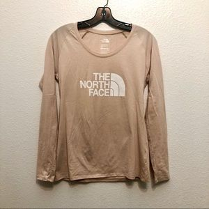 The North Face | nude long sleeve T-shirt